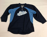 Warrior Custom Pro Stock Navy Hockey Practice Jersey MAINE 56