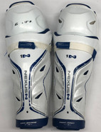 "Bauer Nexus Sr Shin Guards 15"" Pro Stock Used 3"