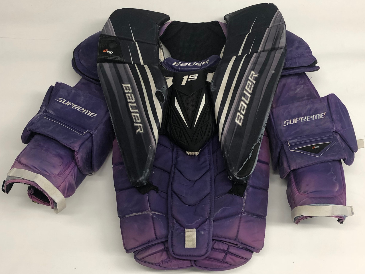 BAUER 1S XL PRO STOCK GOALIE CHEST PROTECTOR