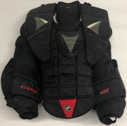 CCM AB PRO XL PRO STOCK GOALIE CHEST PROTECTOR