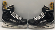 BAUER 1S PRO STOCK ICE HOCKEY SKATES 7 EE USED