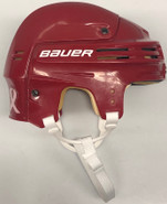 BAUER 4500 PRO STOCK HOCKEY HELMET RED SMALL NCAA