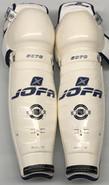 "Jofa 6070 Pro Sr Shin Guards Pads 18"" Pro Stock NEW"