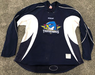 CCM Edge Custom Pro Stock Hockey Practice Jersey Thunderbirds AHL Navy 56