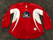 CCM Edge Custom Pro Stock Hockey Practice Jersey Thunderbirds AHL Red 56