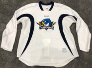 CCM Edge Custom Pro Stock Hockey Practice Jersey Thunderbirds AHL White 54