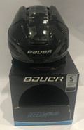 BAUER IMS 11.0 CUSTOM HOCKEY HELMET BLACK MAROON SMALL NEW