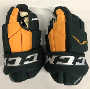 "CCM HGTKPP Pro Stock Custom Hockey Gloves 15"" NEW Clarkson NCAA"