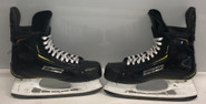 BAUER 2S PRO STOCK ICE HOCKEY SKATES 8 E MARCHAND BOSTON BRUINS