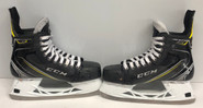 CCM AS1 Custom Pro Stock Ice Hockey Skates 9.5 D Boston Bruins MILLER
