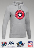 MassConn United Under Armour Hustle Team Hoodie Youth