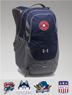 MassConn United Under Armour Team Hustle 3.0 Backpack