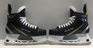 CCM SUPER TACKS PRO STOCK ICE HOCKEY SKATES 9.5 D D MILLER BOSTON BRUINS