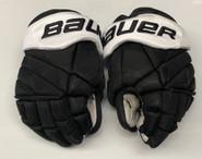 "Bauer 1X Lite Pro Custom Hockey Gloves 13"" Black NCAA Pro Stock #19"