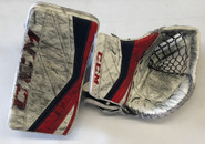 CCM Premier Pro II Pro Goalie Glove And Blocker MONTEBEAULT Pro Stock (2)