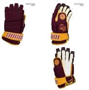 SW High Warrior Alpha Pro Custom Hockey Gloves