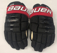 "Bauer Nexus 1N Pro Stock Custom Hockey Gloves 15"" NE Huskies NEW"