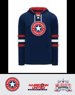 MassConn United Hockey Club AK A1845 Sport Lace Hoodie