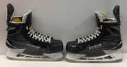 BAUER 1S PRO STOCK ICE HOCKEY SKATES 9 D USED