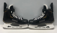 BAUER 2S PRO STOCK ICE HOCKEY SKATES 9 1/2 D MOORE BOSTON BRUINS 2