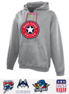 MassConn United Hockey Pennant Face Off Cotton Hoodie Adult