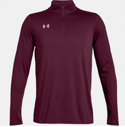 Easthampton Hockey Under Armour Locker Polyester 1/4 Zip Maroon