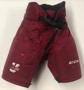 CCM HP35 Custom Pro Hockey Pants UMASS AMHERST MINUTEMEN MEDIUM Pro Stock NCAA Used