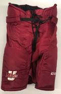 CCM HP35 Custom Pro Hockey Pants UMASS AMHERST MINUTEMEN Large Pro Stock NCAA