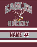 Easthampton Eagles Champro Sublimated Fleece Sport Stadium Blanket