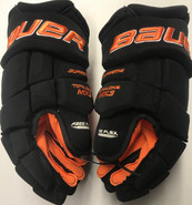 "Bauer MX3 Pro Stock Custom Hockey Gloves 15"" Princeton NEW"