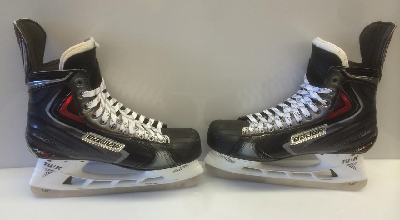 Used Hockey Skates >> Bauer Vapor Apx 2 Custom Pro Stock Ice Hockey Skates 11 B Used Nyr 4