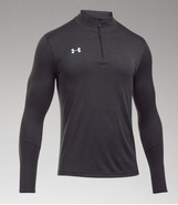 SW High Hockey Under Armour Locker Polyester 1/4 Zip Graphite
