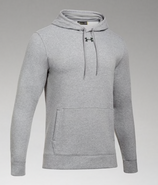 SW High Hockey Under Armour Hustle Hooded Sweatshirt Sport Grey