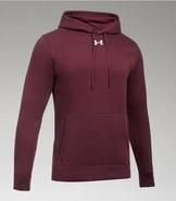 SW High Hockey Under Armour Hustle Hooded Sweatshirt Maroon