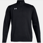 SW High Hockey Under Armour Hustle 1/4 Zip Black