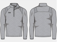 SW High Hockey Under Armour Hustle 1/4 Zip Sport Grey