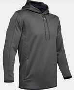 SW High Hockey Under Armour Double Threat AF Polyester Hoodie Charcoal Grey