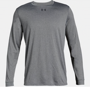 SW High Hockey Under Armour Locker Long Sleeve Polyester T-shirt Grey