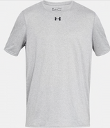 SW High Hockey Under Armour Locker Short Sleeve Polyester T-shirt Grey