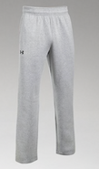 ARHS Hurricanes Hockey Under Armour Hustle Open Botton Sweatpant Sport Grey