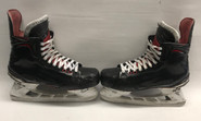 BAUER VAPOR 1X 2017 PRO STOCK ICE HOCKEY SKATES 9 EE NHL USED