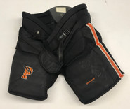 Bauer Pro Stock Hockey Goalie Pants Black XL Princeton NCAA Used
