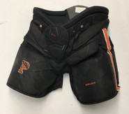 Bauer 1x Pro Stock Hockey Goalie Pants Black Large Princeton NCAA Used