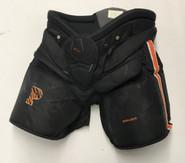 Bauer 1x Pro Stock Hockey Goalie Pants Black Large Princeton NCAA Used