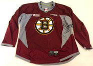 Reebok Edge 3.0 Custom Pro Stock Hockey Practice Jersey Boston Bruins Maroon 58 New