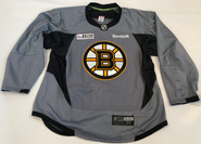 Reebok Edge 3.0 Custom Pro Stock Hockey Practice Jersey Boston Bruins Grey 56 New