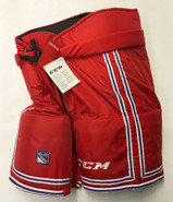 CCM HP70 Custom Pro Stock Hockey Pants Large New York Rangers NHL NEW