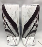Bauer Supreme 2S Pro Goalie Leg Pads Medium Pro Stock NCAA Used UM