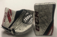 CCM Premier Pro II Pro Goalie Glove And Blocker MONTEBEAULT Pro Stock 3