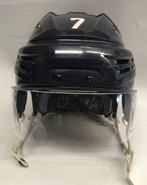 BAUER REAKT PRO STOCK HOCKEY HELMET NAVY MEDIUM THUNDERBIRDS #7